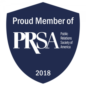 Public Relations Society of America Member 2018